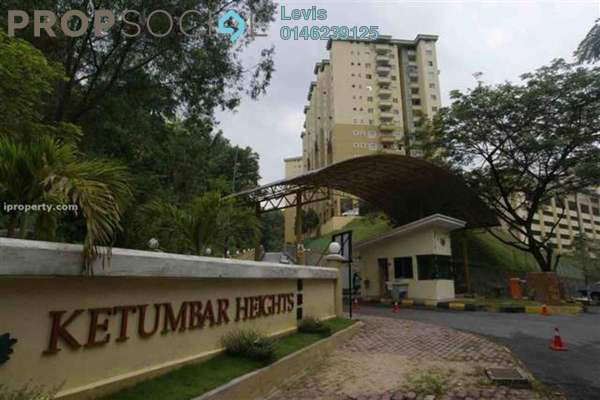 For Rent Condominium at Ketumbar Heights, Cheras Freehold Fully Furnished 3R/2B 1.3k