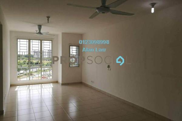 For Sale Apartment at Seri Baiduri, Setia Alam Freehold Semi Furnished 3R/2B 320k
