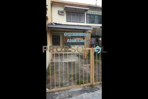 For Sale Terrace at Taman Permata, Wangsa Maju Freehold Unfurnished 2R/2B 430k