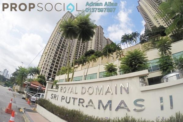 For Sale SoHo/Studio at Sri Putramas II, Dutamas Freehold Unfurnished 3R/2B 560k