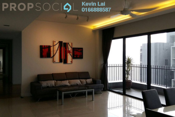 For Rent Condominium at Five Stones, Petaling Jaya Freehold Fully Furnished 4R/5B 5.5k