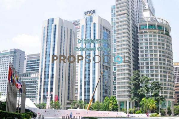 For Rent Office at Etiqa Tower, Bangsar Freehold Semi Furnished 0R/0B 38.4k