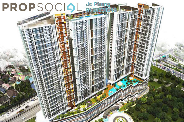 For Sale Serviced Residence at 99 Residence, Kuala Lumpur Leasehold Semi Furnished 3R/2B 387k