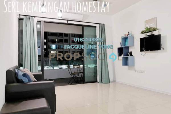 For Sale Condominium at Paragon 3, Bandar Putra Permai Freehold Fully Furnished 3R/3B 750k