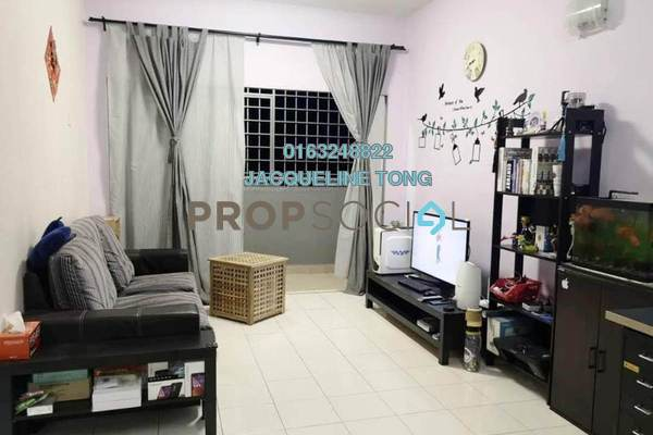 For Sale Apartment at Desa Saujana, Seri Kembangan Freehold Semi Furnished 3R/2B 310k