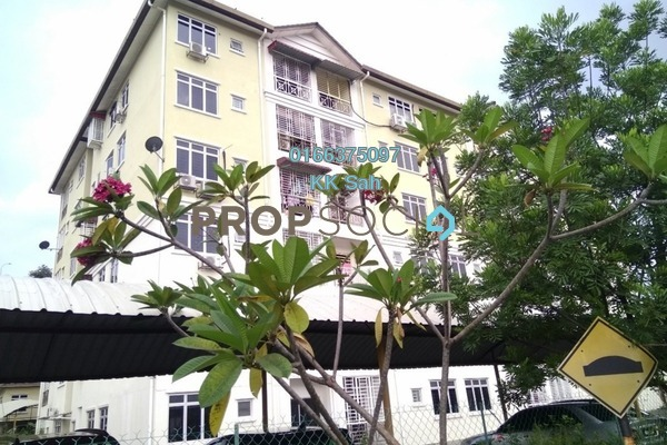 For Sale Apartment at Bandar Damai Perdana, Cheras South Freehold Semi Furnished 3R/2B 338k