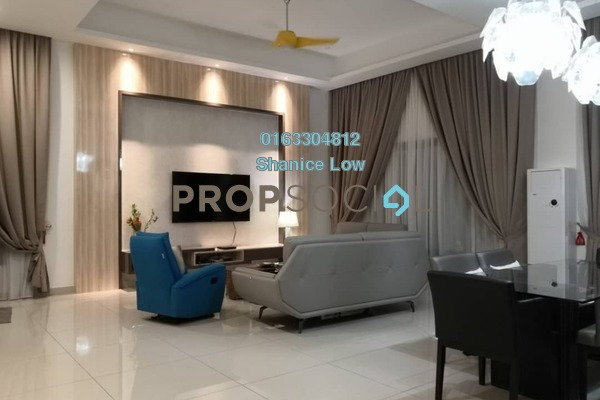 For Sale Semi-Detached at D'Island, Puchong Freehold Semi Furnished 5R/6B 1.85m