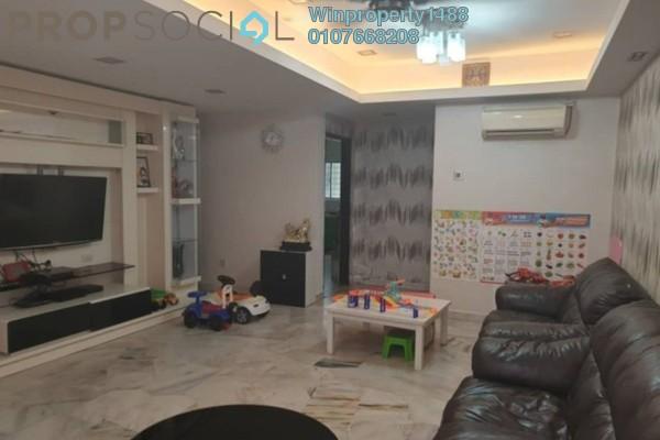 For Sale Terrace at Taman Kinrara, Bandar Kinrara Freehold Semi Furnished 4R/2B 500k
