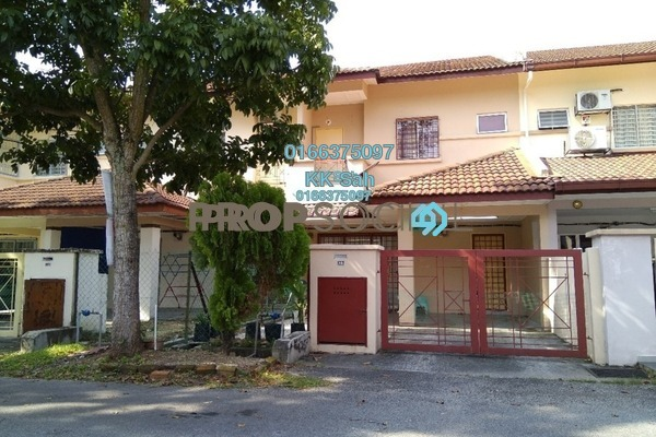 For Sale Link at Section 1, Bandar Mahkota Cheras Freehold Semi Furnished 4R/3B 488k