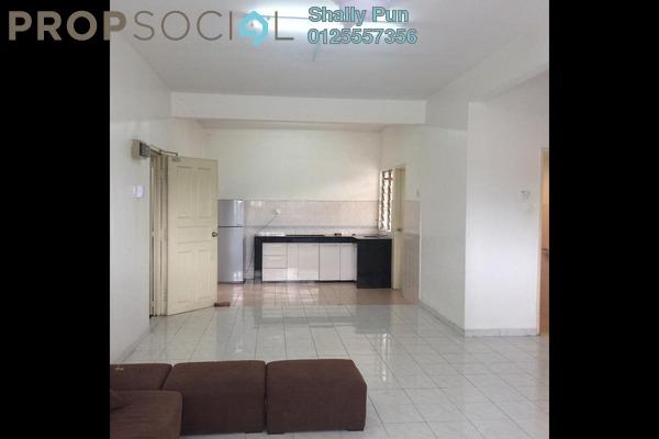 For Rent Apartment at Sri Mekar Apartment, Bandar Puchong Jaya Freehold Semi Furnished 3R/2B 1.1k