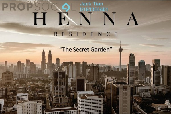 For Sale Serviced Residence at Henna Residence @ The Quartz, Wangsa Maju Freehold Semi Furnished 2R/1B 330k