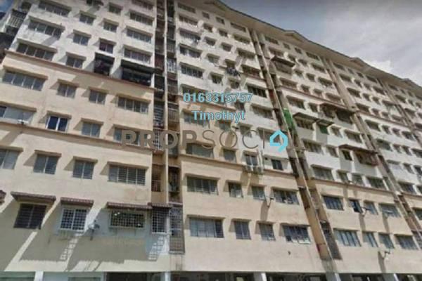 For Sale Apartment at Teratai Apartment, Bandar Mahkota Cheras Leasehold Semi Furnished 3R/2B 175k