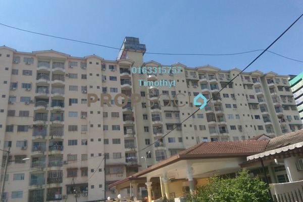For Sale Apartment at City Heights Apartment, Kajang Freehold Semi Furnished 3R/2B 173k