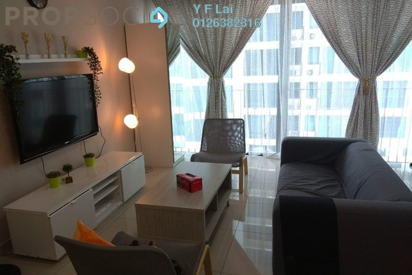 For Rent Condominium at Trefoil, Setia Alam Freehold Fully Furnished 2R/2B 2.2k
