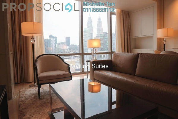 For Sale Serviced Residence at Pavilion Suites, Bukit Bintang Freehold Fully Furnished 2R/2B 4.2m