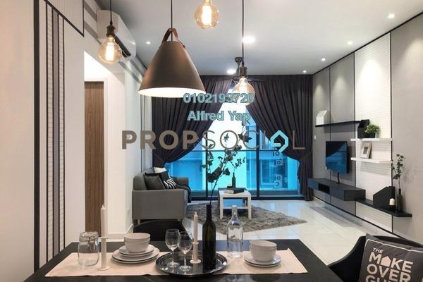 For Rent Condominium at City of Green Condominium, Seri Kembangan Freehold Fully Furnished 3R/2B 2.2k