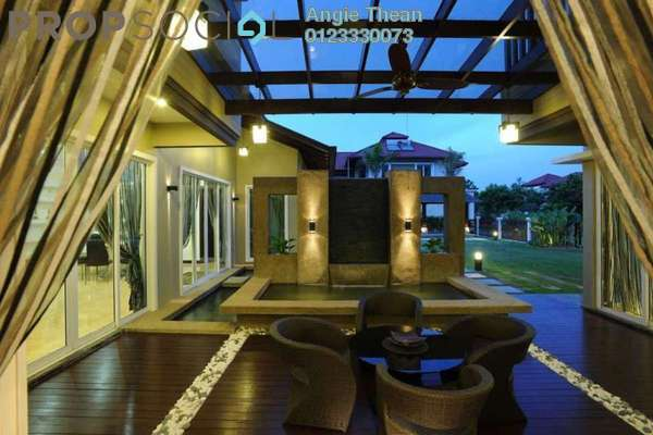 For Sale Bungalow at Setia Eco Park, Setia Alam Freehold Semi Furnished 7R/7B 5.6m