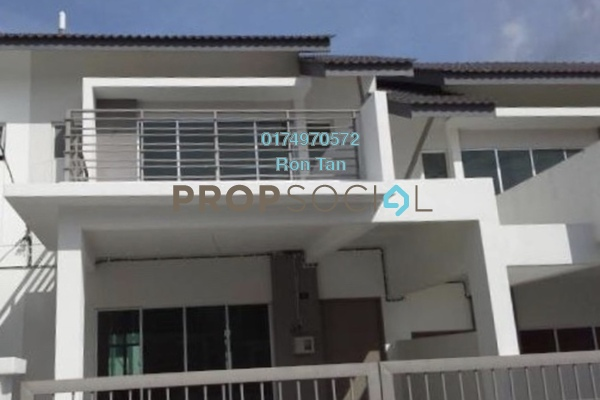 For Sale Terrace at Taman Titi Heights, Balik Pulau Freehold Semi Furnished 4R/3B 650k