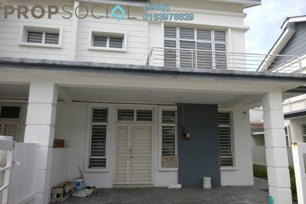 For Sale Terrace at Royal Ivory 2, Bandar Saujana Putra Freehold Semi Furnished 4R/3B 590k