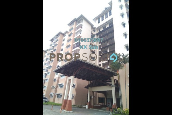 For Rent Apartment at Sri Bahagia Court, Cheras Freehold Semi Furnished 3R/2B 900translationmissing:en.pricing.unit