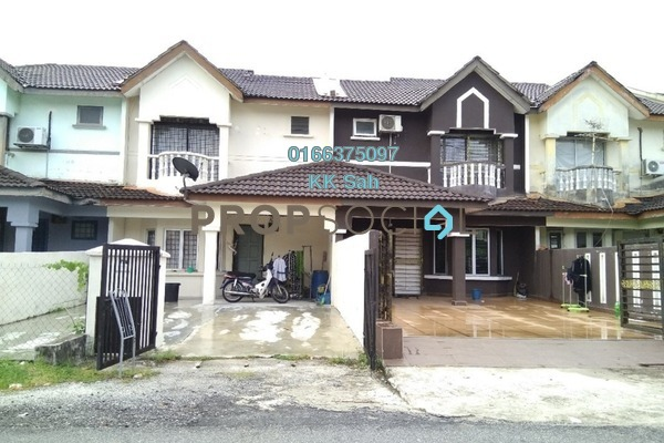 For Sale Link at Bandar Armada Putra, Port Klang Leasehold Semi Furnished 3R/3B 238k