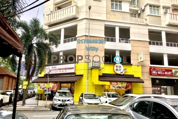 For Sale Shop at Fortune Avenue, Kepong Leasehold Fully Furnished 0R/2B 2.08m
