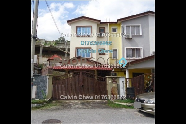 For Sale Terrace at Taman Bukit Permata, Batu Caves Freehold Unfurnished 0R/0B 585k
