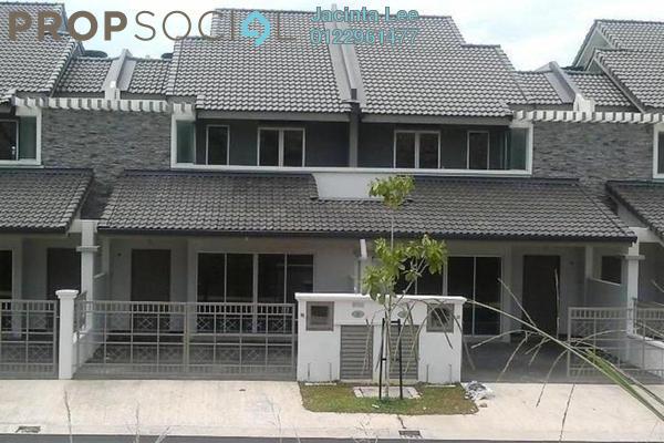 For Sale Terrace at Alam Nusantara, Setia Alam Freehold Semi Furnished 4R/3B 474k