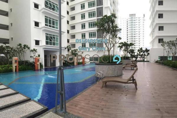 For Rent Condominium at Arena Residence, Bayan Baru Freehold Fully Furnished 3R/2B 1.9k