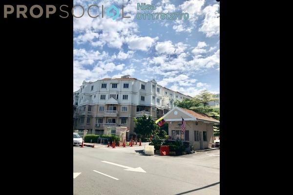 For Rent Townhouse at Sommerset Close, Bandar Sri Permaisuri Freehold Semi Furnished 4R/4B 2.5k