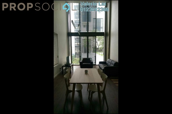 For Rent SoHo/Studio at Centrio, Pantai Freehold Fully Furnished 1R/2B 3k