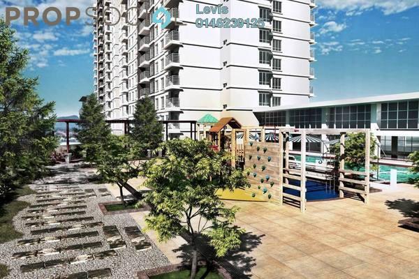 For Rent Condominium at Spring Avenue, Kuchai Lama Freehold Semi Furnished 3R/2B 1.8k