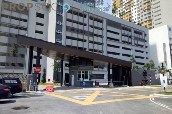 For Rent Condominium at The Holmes 2, Bandar Tun Razak Freehold Semi Furnished 3R/2B 1.8k