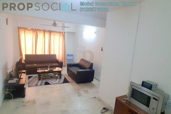 For Sale Apartment at Vista Lavender, Bandar Kinrara Freehold Semi Furnished 3R/2B 220k