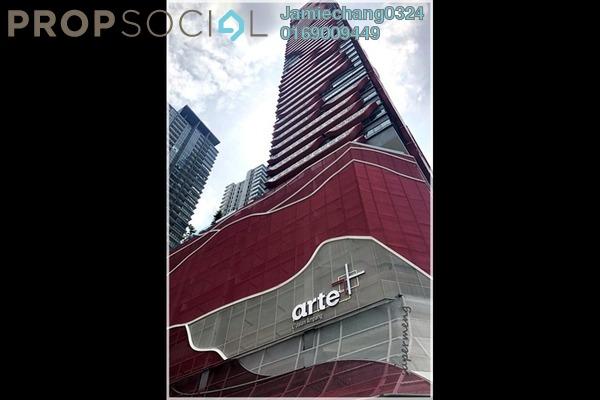For Rent Condominium at Arte +, Jalan Ampang Freehold Semi Furnished 3R/2B 3k