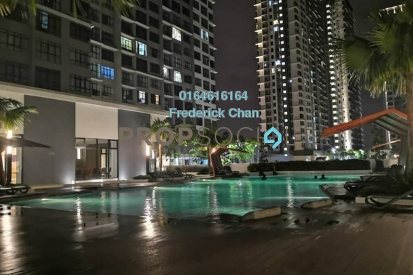 For Rent Serviced Residence at Conezión, IOI Resort City Freehold Fully Furnished 3R/2B 2.4k