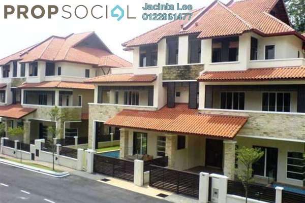 For Sale Semi-Detached at Beverly Heights, Ukay Leasehold Semi Furnished 7R/8B 1.4m