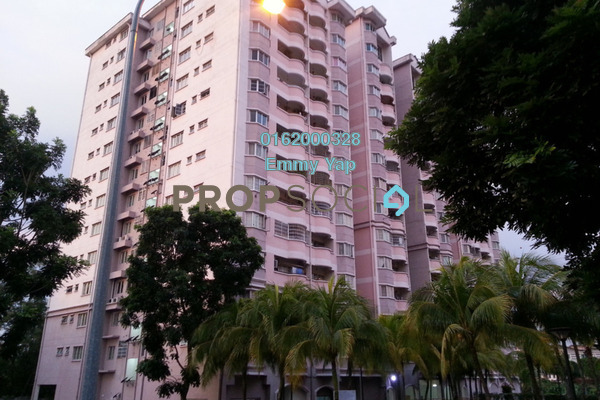 For Rent Condominium at Desa Saujana, Seri Kembangan Freehold Fully Furnished 3R/2B 1.3k