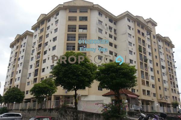 For Sale Apartment at Taman Bukit Kenangan, Kajang Freehold Unfurnished 3R/2B 238k