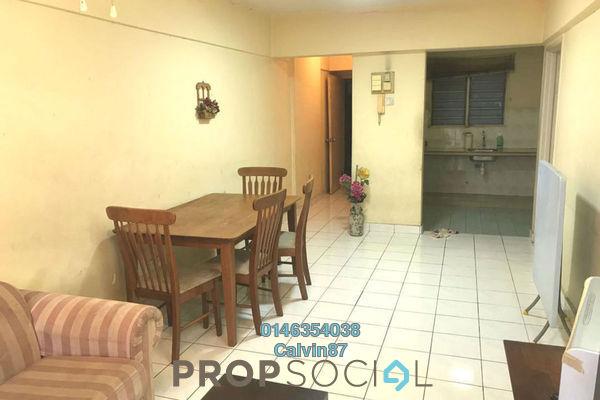 For Rent Apartment at Sri Bayu Apartment, Bandar Puchong Jaya Freehold Semi Furnished 3R/2B 1.1k