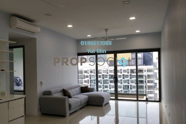 For Sale Condominium at Reflection Residences, Mutiara Damansara Freehold Semi Furnished 3R/2B 970k