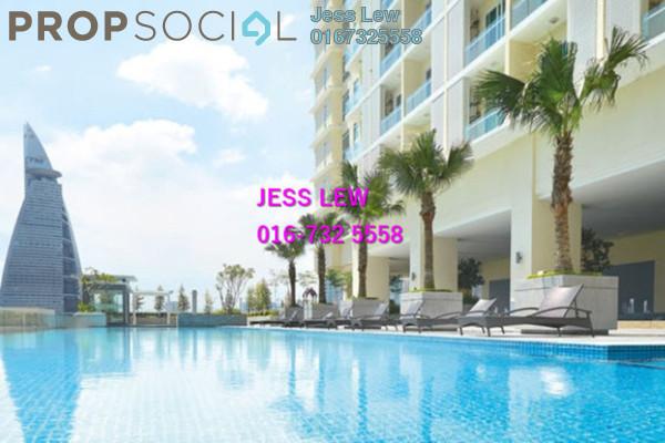 For Sale Condominium at Camellia, Bangsar South Freehold Semi Furnished 1R/1B 620k