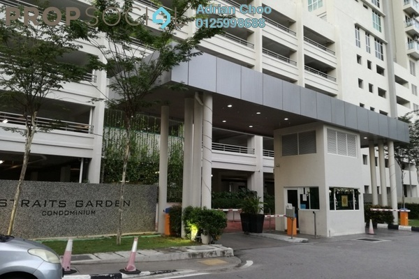 For Sale Condominium at Straits Garden, Jelutong Freehold Unfurnished 4R/2B 780k