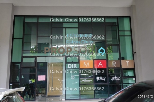 For Sale Shop at The Leafz, Sungai Besi Freehold Unfurnished 0R/0B 984k
