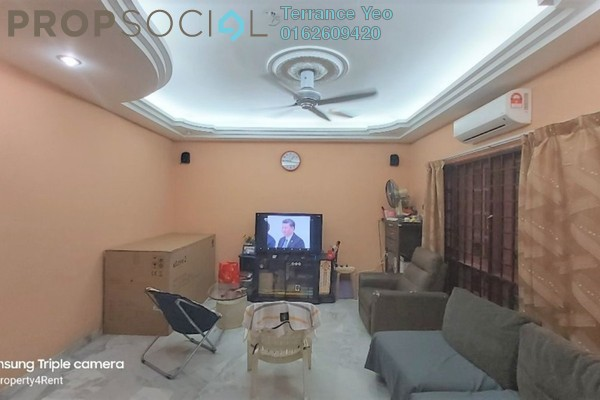 For Sale Terrace at Taman Wawasan, Pusat Bandar Puchong Freehold Semi Furnished 4R/3B 770k