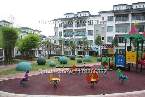 For Sale Duplex at Bayan Villa, Seri Kembangan Freehold Unfurnished 4R/4B 506k