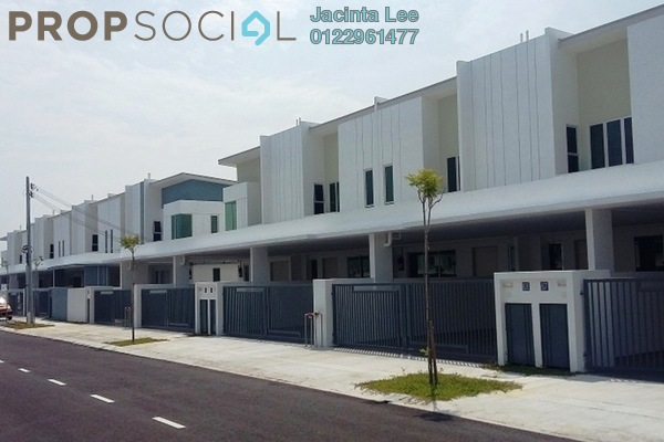 For Sale Terrace at Castora, Bandar Sri Sendayan Freehold Semi Furnished 4R/4B 405k