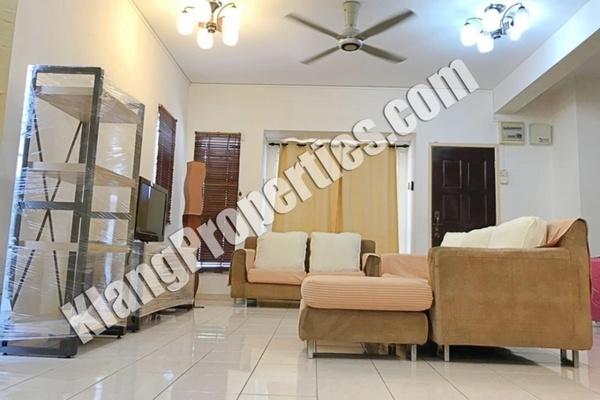 For Rent Terrace at Setia Eco Park, Setia Alam Freehold Fully Furnished 4R/3B 1.8k