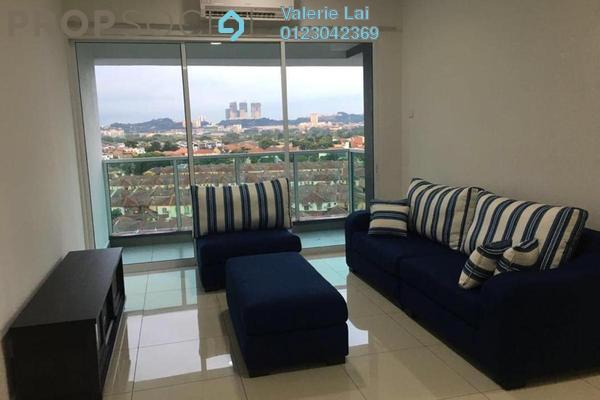 For Rent Condominium at The Regina, UEP Subang Jaya Freehold Semi Furnished 3R/2B 1.8k