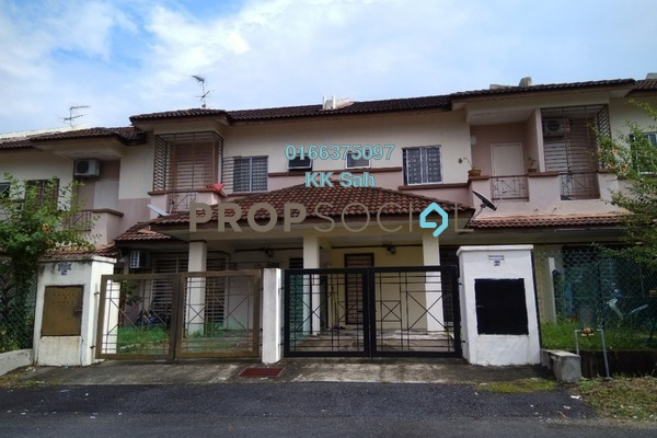 For Sale Terrace at Section 1, Bandar Mahkota Cheras Freehold Unfurnished 4R/3B 450k